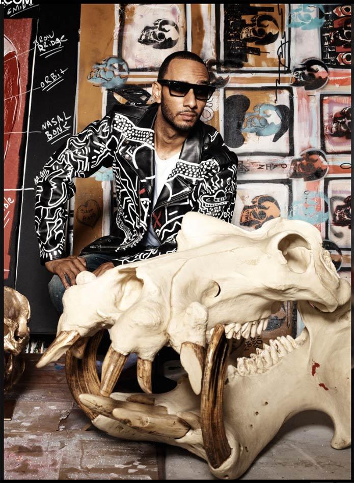 btangdaily: Swizz Beatz x Dinosaur Bones