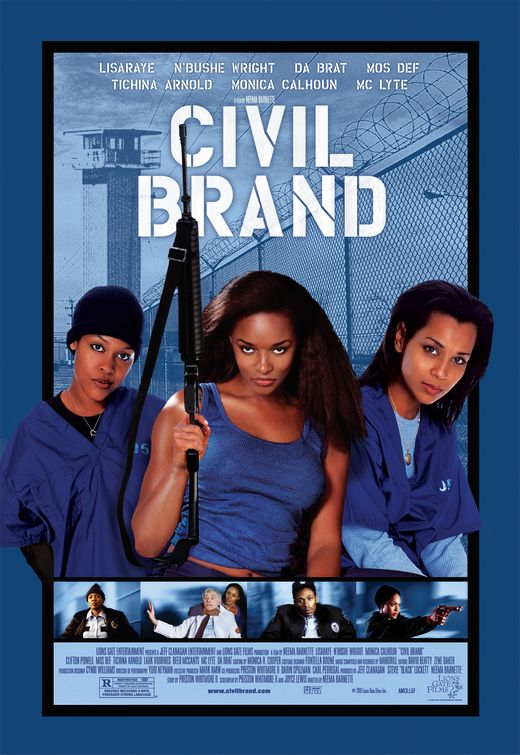"""blckcinema: Civil Brand Women prisoners strike up a friendship with a young law student who works as a part-time prison guard. Together they discover that a corporation funds and isprofitingfrom the plantation-like work environment they are forced to work under. In a botched attempt to organize a protest against their """"slave labor"""", the women take over the prison - A rare glimpse of the effects of the prison industrial complex on female inmates. XxX ^^^ Click to Watch full Movie"""