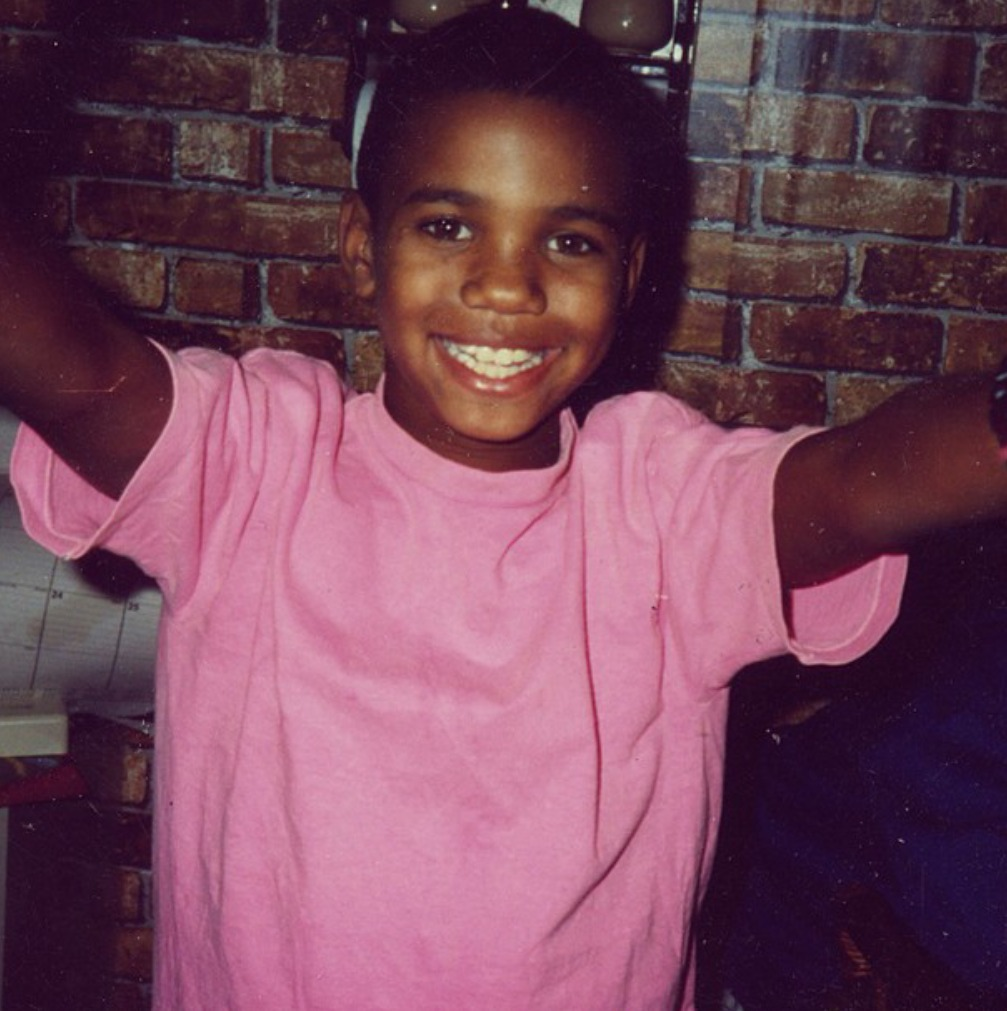 hip-hop-lifestyle: The Game at 9 years old.