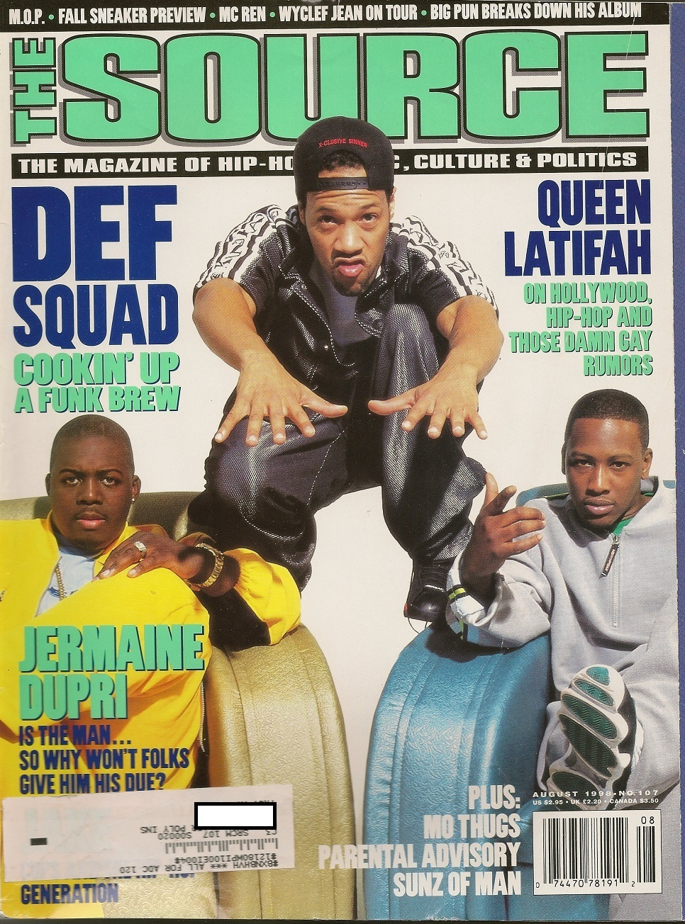 westcoastchris: Erick Sermon, Redman & Keith Murray, The Source, August 1998