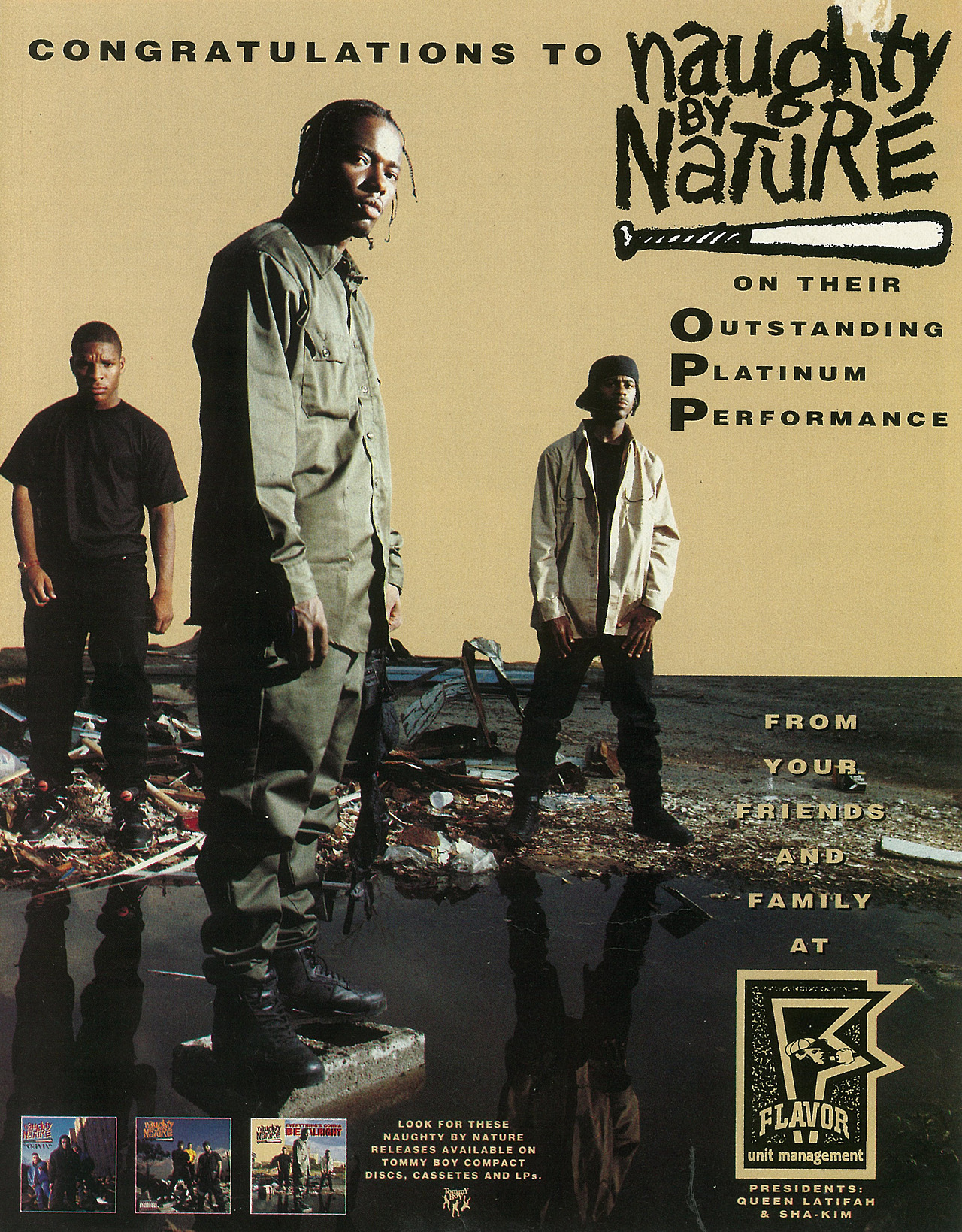 wordtothemother: Naughty By Nature. Advertisement.