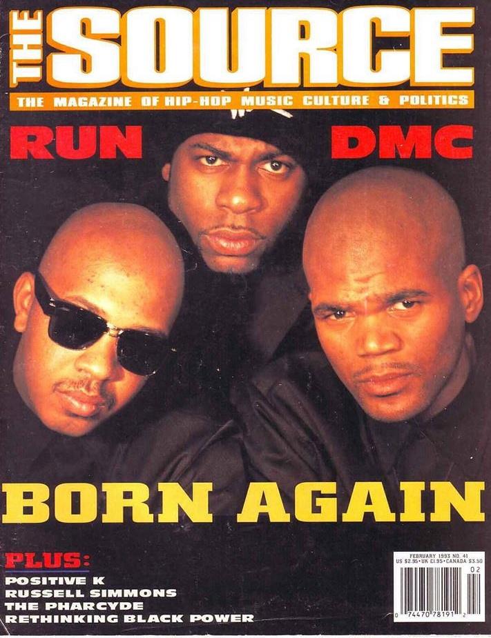 90shiphopraprnb :      Run–D.M.C. (The Source, 1993)