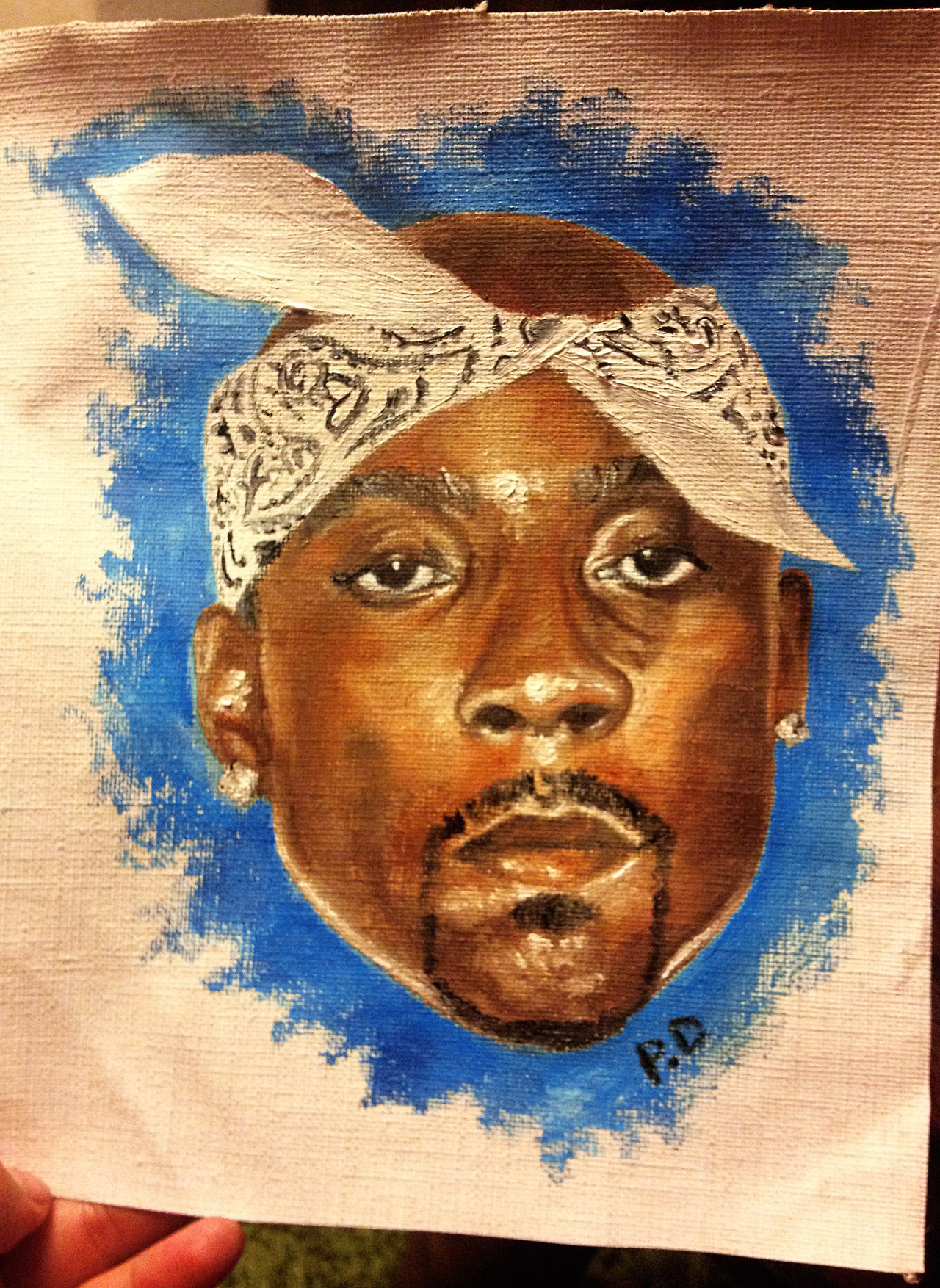 paloma-demanet :     Quick Nate Dogg painting