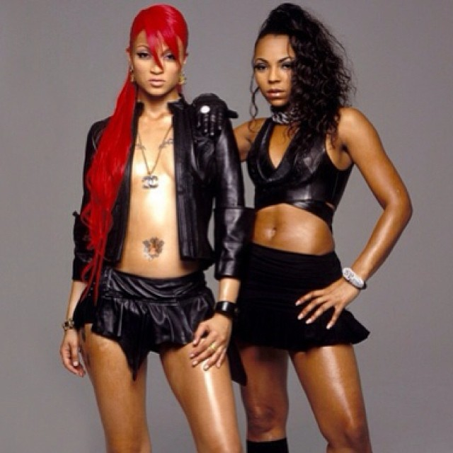 #TBT #CharliBaltimore with #Ashanti … go check out her page & our collection of #FemaleEmcees