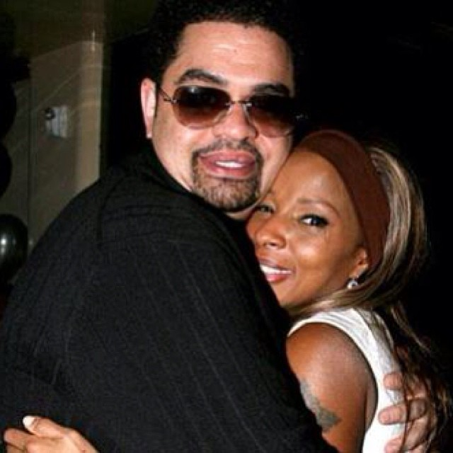 This picture really warms my heart … #HeavyD #MaryJBlige #TBT