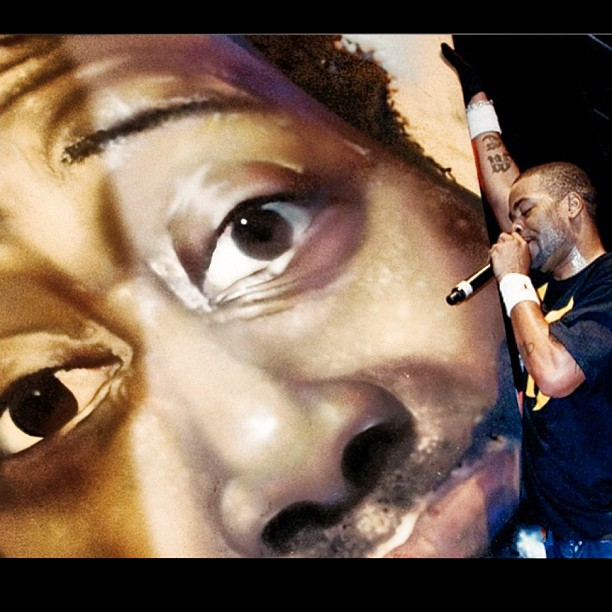 chorboogie :     This happened.. #odb tribute #rockthebells @guerillaunion #methodman 2013 tribute going down