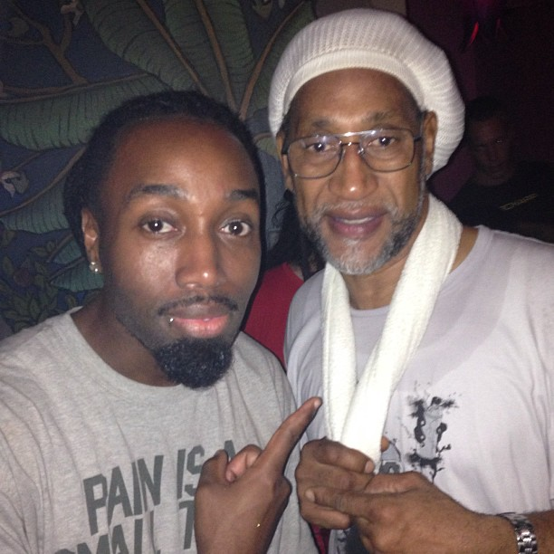 "iammecca: ""So whats you do last night Mecc?"" Not much, just chopped it up with one of the FOUNDERS OF HIP-HOP, DJ KOOL HERC!!! #IWin #HipHop #DJ #Legend #Classic #KoolHerc #Music #Founder #Originator (at Wendy's) http://hiphopsmithsonian.com/kool-herc-bio"