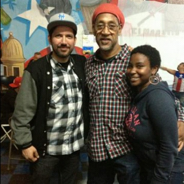 kaykayishere: Earlier today at EL Maestro's Boxing Gym #KoolHerc #BXLovesVenezuela http://hiphopsmithsonian.com/kool-herc-bio