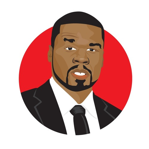 "Digital Bio of Curtis ""50 Cent"" Jackson   http://hiphopsmithsonian.com/50-cent"