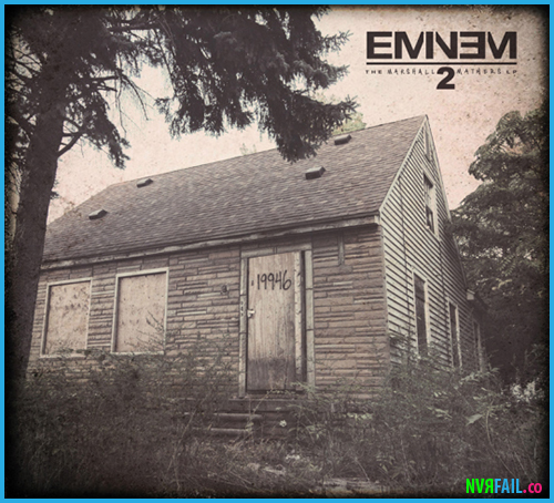 nevrfail: Marshall Mathers LP 2 (Artwork) Twitter Facebook Google+ Tumblr