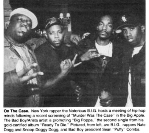 old-school-shit :      christmas-in-compton :      chrisischemical :       R.I.P BIG and Nate Dogg.