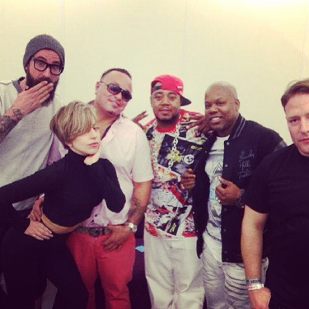 With #LadyGaga & #TooShort …the trio performed recently at the iTunes festival in London #Twista #Chicago #TungTwista #ChicagoRappers #Chiraq #MidwestRappers (T.I. Also via satellite)