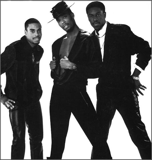 original-lukekage: Whodini:The Brooklyn, New York-based trio consisted of vocalist and main lyricist Jalil Hutchins; co-vocalist John Fletcher, aka Ecstasy and turntable artist DJ Drew Carter, aka Grandmaster Dee.