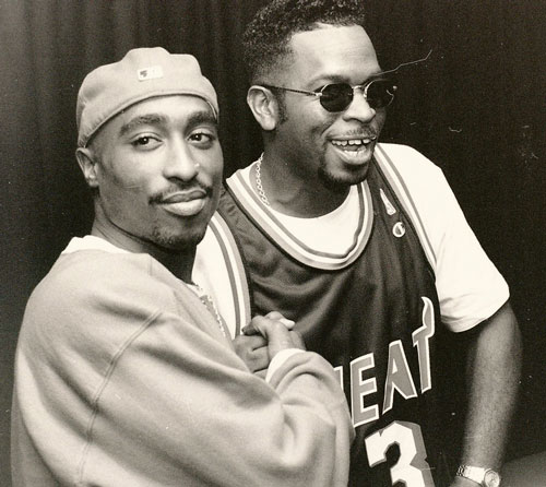 jbeckford: Photograph (1994) 2Pac + Luke // The Source Awards Photo Source: The305.com + FLICKR.com