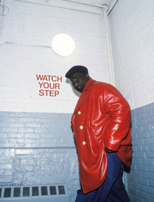 "hiphopfightsback :      ""I don't give a fuck about you or your weak crew. What you gonna do when Big Poppa comes for you? I'm not runnin, nigga I bust my gun in!""    -   Biggie Smalls"
