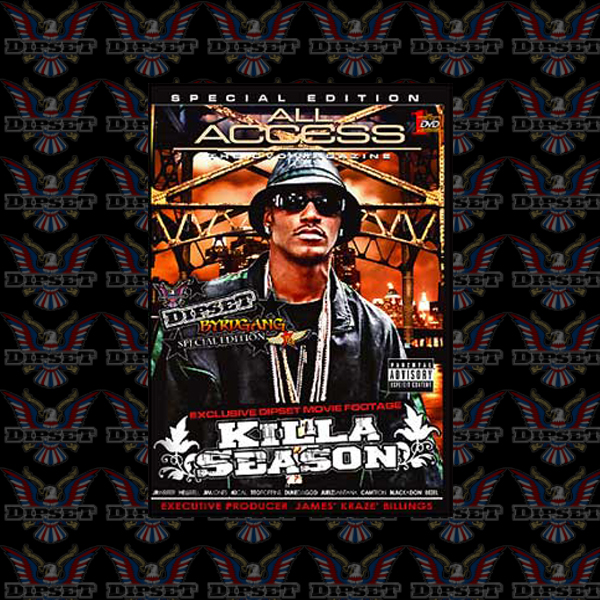 steadyleanin :     Dipset Byrdgang: All Access: Killa Season (2006) [Documentary]          Dipset Appreciation All Day on  http://hiphopsmithsonian.com/  Listen to the megamix, check out the pics & experience the digital bio!!