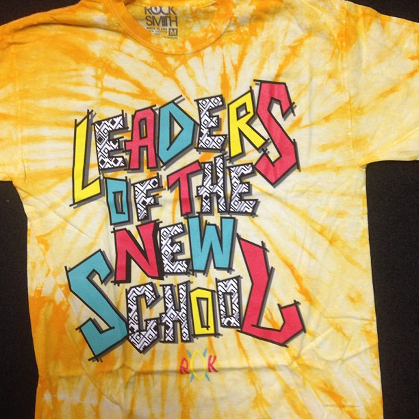 creamstreetlife: Leaders of The New School tee by Rocksmith #leadersofthenewschool #rocksmith #streetwear #tiedye #fashion #bustarhymes#charliebrown#longisland#ny#hiphop#oldschool#tribecalledquest @rocksmithnyc @chefroddy