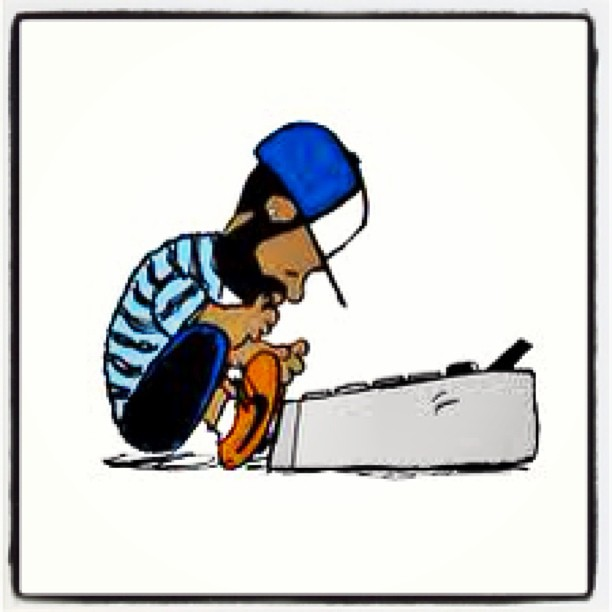 judgedrew :     Last day of #Dilla month. Had to post this because it shows something that we love about J. The fact that he didn't just want to make music. He had to make music. And when he left us, he left the world with just a little more groove. Thanks J Dilla. R.I.P. James Dewitt Yancey Feb. 7, 1974 - Feb. 10, 2006. #jdilla #dillamonth #jaydee #atribecalledquest #madlib #delasoul #erykahbadu #common #stonesthrow #theroots #hiphop #sampling #mpc #genius #legend #myinspiration
