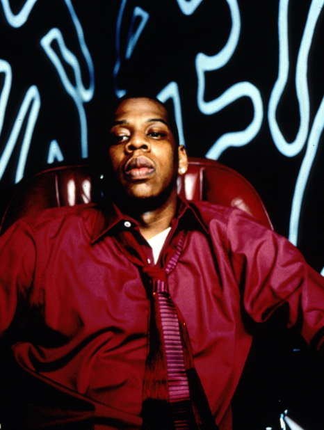 aintnojigga :      Jay-Z, photographed for   Vol 2… Hard Knock Life  , by Jonathan Mannion in 1998.