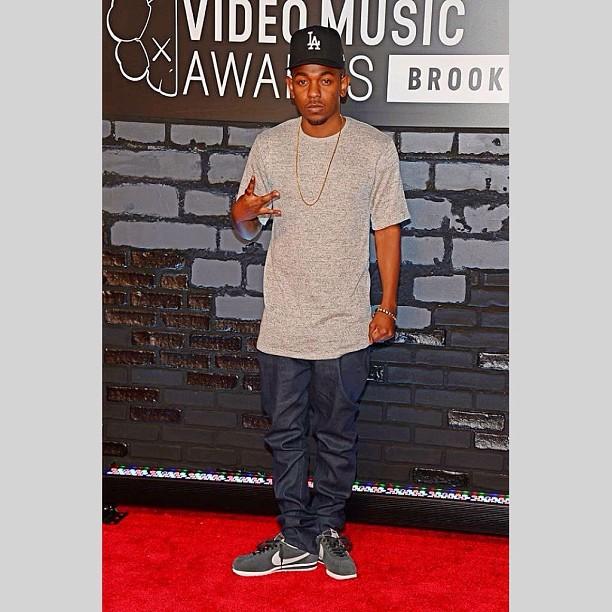 Kendrick Lamar on the red carpet #kdot #kendricklamar #vmas #vmas2013