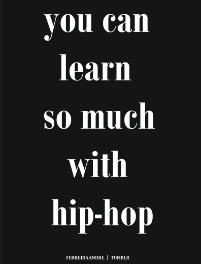 Indeed!Follow THE JOURNEY   http://hiphopsmithsonian.com/the-journey/