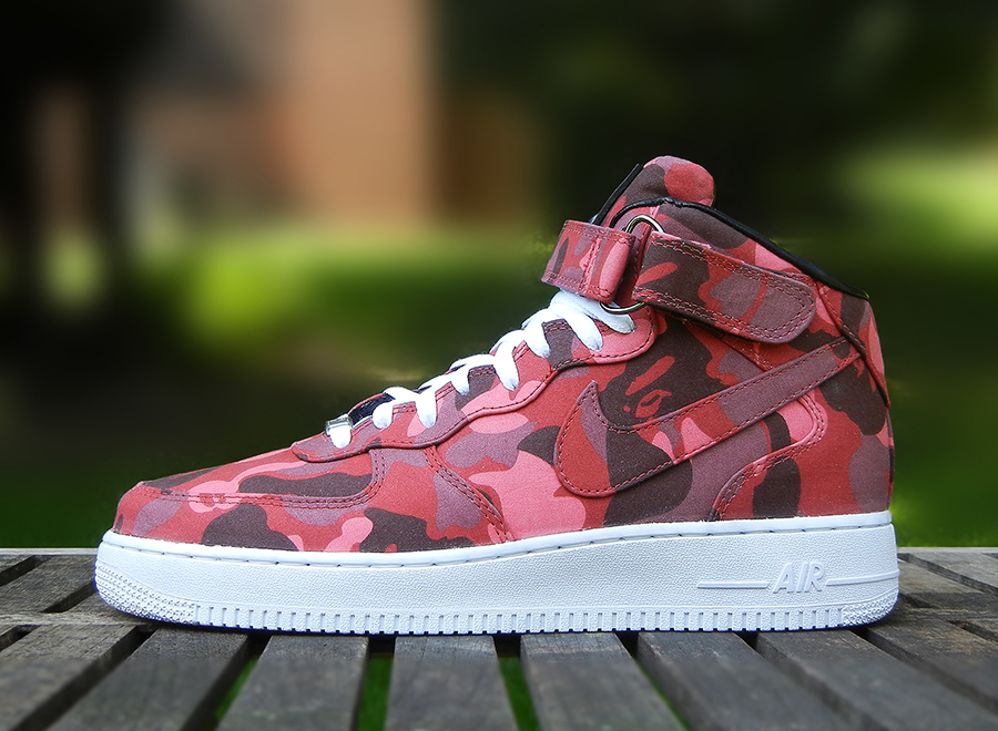 fuckyeahyype: @Nike Air Force One x @ABathingApe_EU 1st Camo Print #Incomparable View Post