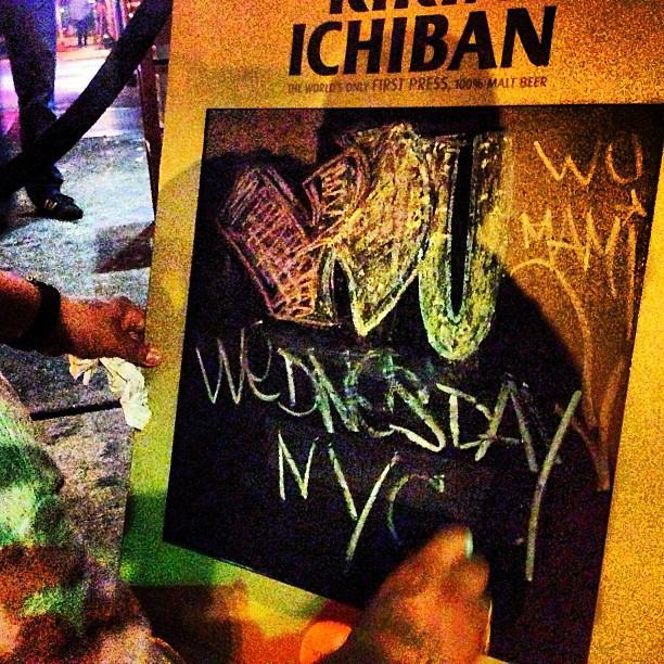 qi41 :     Happy WU Wednesday NYC   #wuwednesday #wuwednesdaynyc #chichanyc #fatbuddhabar      http://hiphopsmithsonian.com/wu-tang-clan/