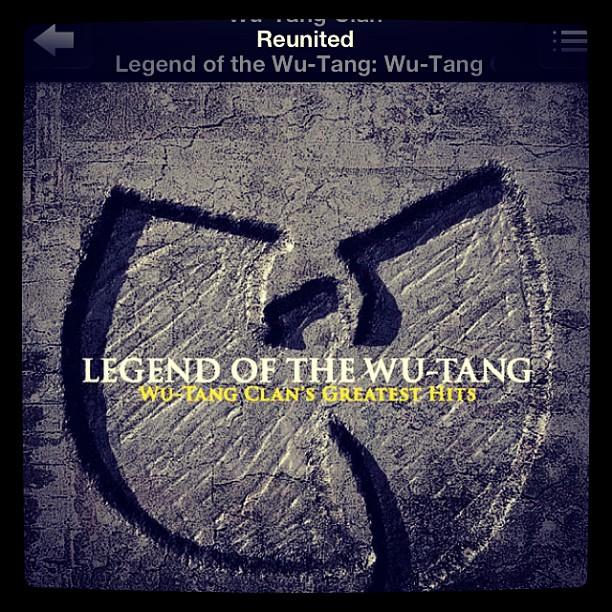 "mkmeechuh :     ""Reunited"" #WuWednesday      http://hiphopsmithsonian.com/wu-tang-clan/"