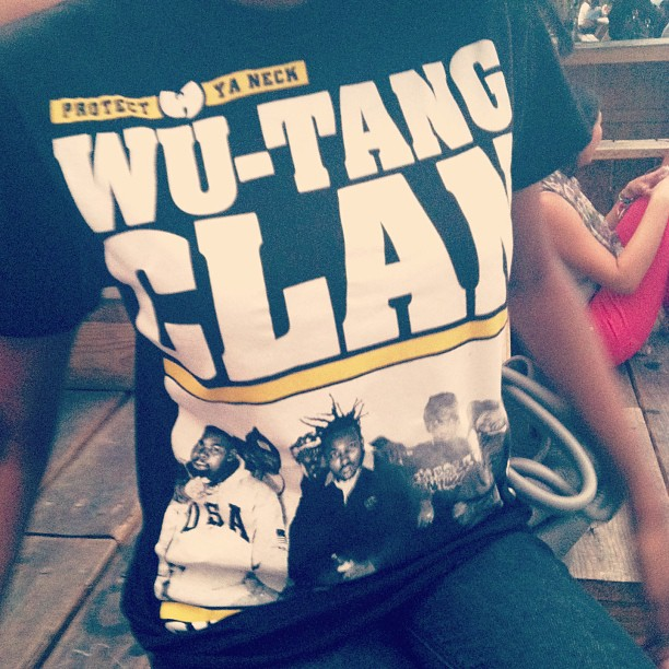 notnessa: #WuWednesday #TshirtofTheDay #ShaolinIsland http://hiphopsmithsonian.com/wu-tang-clan/