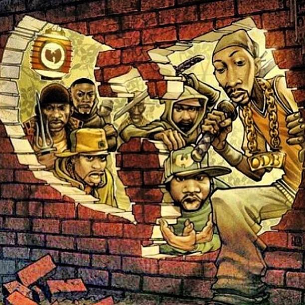 karifornia: 👐 #wutang #wutangclan #wuuu #wuwednesday http://hiphopsmithsonian.com/wu-tang-clan/