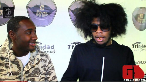 """thetsscrew :       Trinidad Jame$ On Budden Diss: """"If You Don't Like Me, You Can Fight Me""""   — Trinidad Jame$ doesn't have much to say about Joe Budden coming for his neck on the Jersey rapper's """"Control"""" remix because Trinidad Jame$ talks with his hands."""