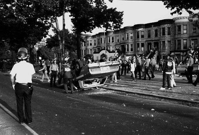 soulbrotherv2 :      On this date, August 19, in 1991 the Crown Heights riot occurred. The deaths of Melbourne Hasidic scholar Yankel Rosenbaum and Black seven-year-old Gavin Cato that day ignited the worst three days of race riots ever seen in New York.       Gavin Cato was adjusting the chain on his bicycle on a Crown Heights street when a car being driven by a Hasidic man struck him. The man said he accidentally mounted the footpath while trying to catch up to a motorcade for a Jewish leader. The boy died instantly. News of the accident spread quickly through the Brooklyn Black community, sparking an outbreak of rioting and looting.  [ Continue reading at the African American Registry .]