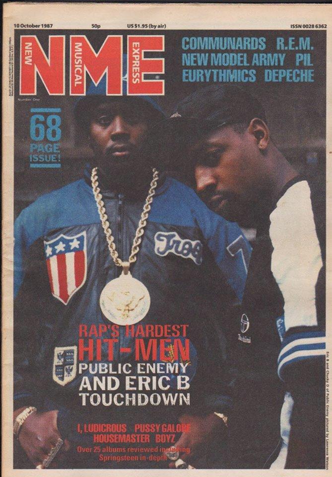 noendznoskinz :     Chuck D & Eric B, October 1987