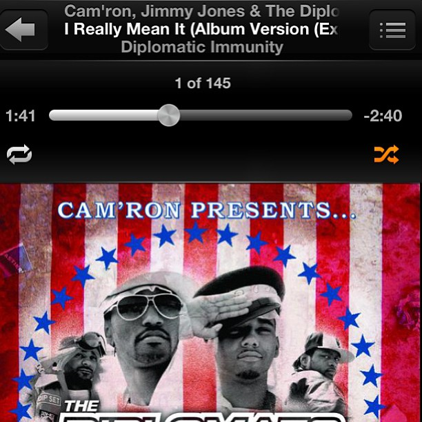 simonsays149: Now that's powerful music man! 👌👐👂🎧🎤 #Dipset #KillaCam #Classic this song influenced my adolescence lol one of my favorite albums too #DiplomaticImmunity Dipset Appreciation All Day on http://hiphopsmithsonian.com/ Listen to the megamix, check out the pics & experience the digital bio!!