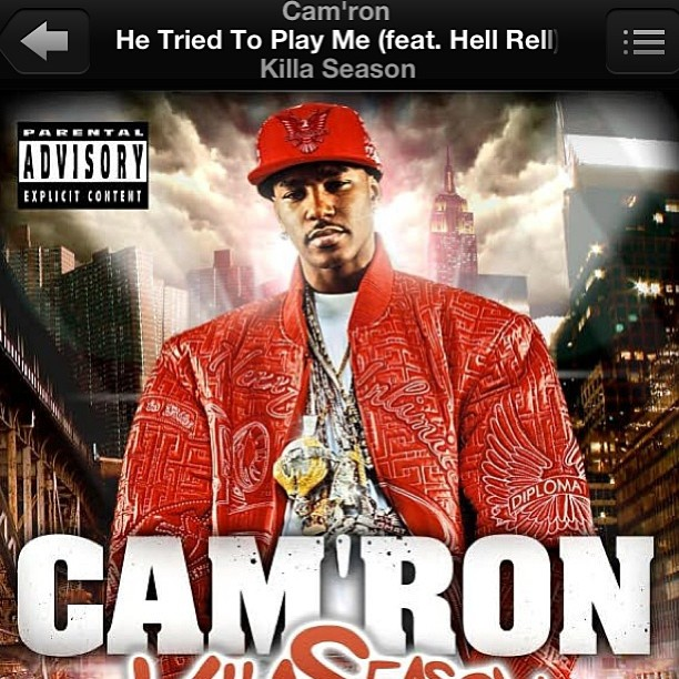thrudruzredeyez: #NP @mr_camron - He Tried To Play Me #KillaSeason #Dipset #Throwback! Dipset Appreciation All Day on http://hiphopsmithsonian.com/ Listen to the megamix, check out the pics & experience the digital bio!!