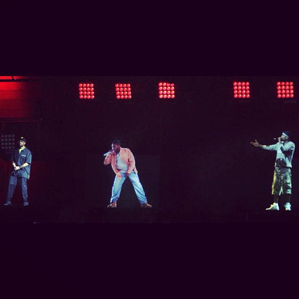 #WUTANGCLAN perform with #ODB hologram at #RockTheBells #wutang #rtb #wutangforever