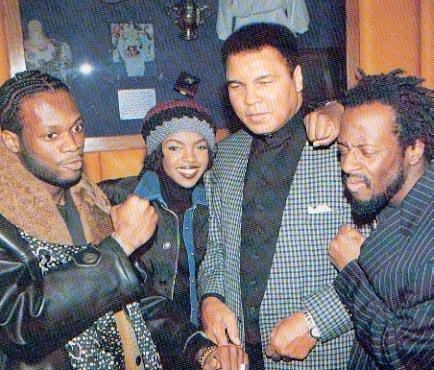 90shiphopraprnb :      Fugees and Muhammed Ali