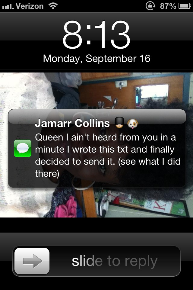 ayannalune: Jamarr knows I'm a sucker for a Common verse. Lmao!!