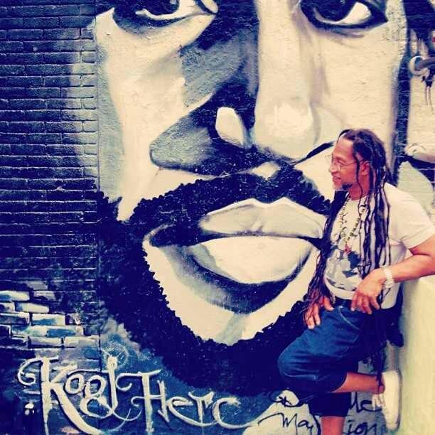 maseratimoney: #PRICELESS #HIPHOP #BRONX #NEWYORK #167&GRANDCONCOURSE #KOOLHERC #MURAL http://hiphopsmithsonian.com/kool-herc-bio