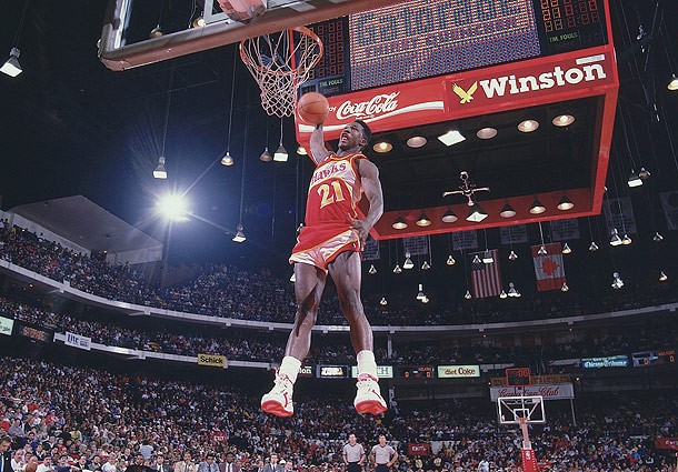"thetsscrew :       NBA Jams: Dominique Wilkins + Reebok's Call To ""Pump Up And Air Out!"""