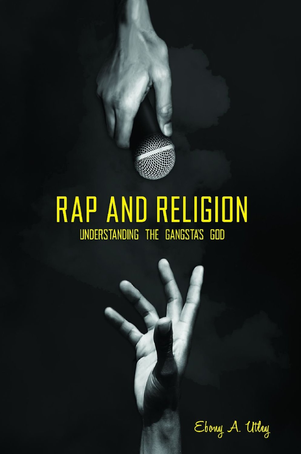 "soulbrotherv2 :        Rap and Religion: Understanding the Gangsta's God    by Ebony A. Utley    Why is the battle between good and evil a recurring theme in rap lyrics? What role does the devil play in hip hop? What exactly does it mean when rappers wear a diamond-encrusted ""Jesus"" around their necks? Why do rappers acknowledge God during award shows and frequently include prayers in their albums?  Rap and Religion: Understanding the Gangsta's God  tackles a sensitive and controversial topic: the juxtaposition—and seeming hypocrisy—of references to God within hip hop culture and rap music.    This book provides a focused examination of the intersection of God and religion with hip hop and rap music. Author Ebony A. Utley, PhD, references selected rap lyrics and videos that span three decades of mainstream hip hop culture in America, representing the East Coast, the West Coast, and the South in order to account for how and why rappers talk about God. Utley also describes the complex urban environments that birthed rap music and sources interviews, award acceptance speeches, magazine and website content, and liner notes to further explain how God became entrenched in hip hop.  [    book link   ]"