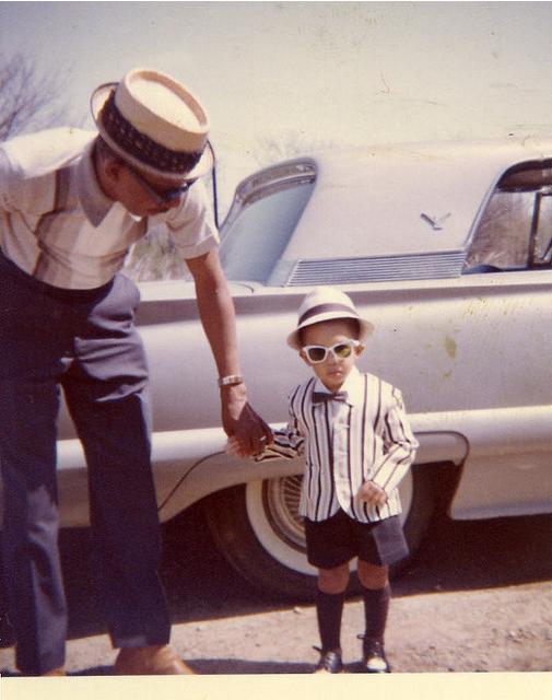 blackhistoryalbum: LIKE FATHER, LIKE SON via vintagenoire: Follow us on Tumblr Pinterest Facebook Twitter