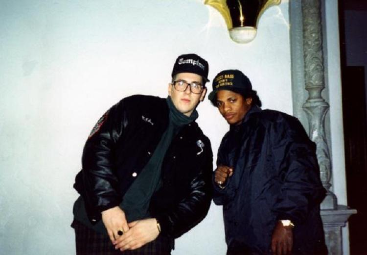 dakkuman: MC Serch and Eazy-E.
