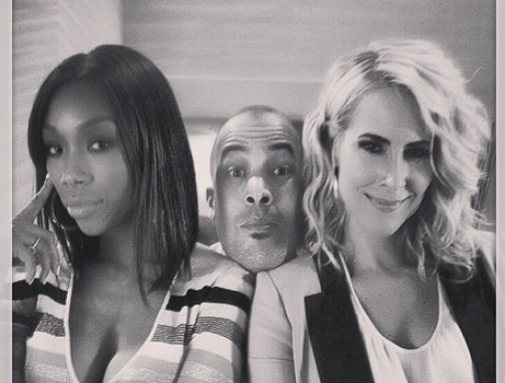 "entertainmentreport :     Brandy tweeted an picture of what's in store for Season 7 of ""The Game""; Kelly Pitts Returns!"