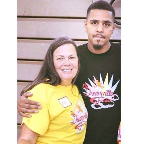 J Cole And His Dad J Cole Mother And Fath...