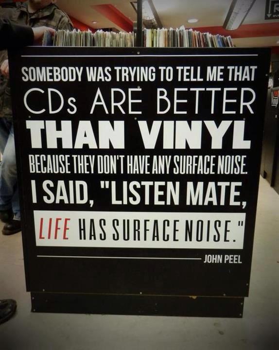 doguskuner :     Vinyl > CDs