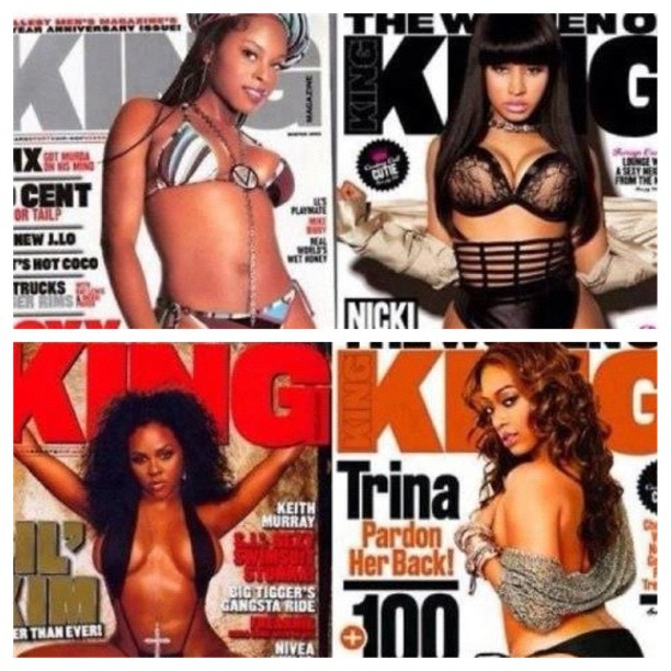 lifesrecipe: Which Cover Is The Best❔ 1⃣Foxy 2⃣Nicki 3⃣Kim 4⃣Trina #thekingmagazine #kingmagazine #magazine #hiphop #rap #modeling #foxybrown #nickiminaj #lilkim #trina #picstitch (Taken with instagram) http://hiphopsmithsonian.com/myfemaleemcees/
