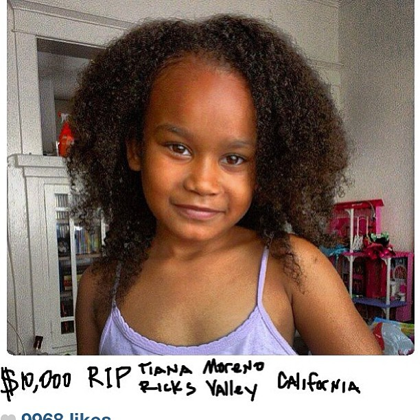 The Game wires $10,000 to family of slain little girl's (Tiana Moreno's) family from Australia @thedocumentary