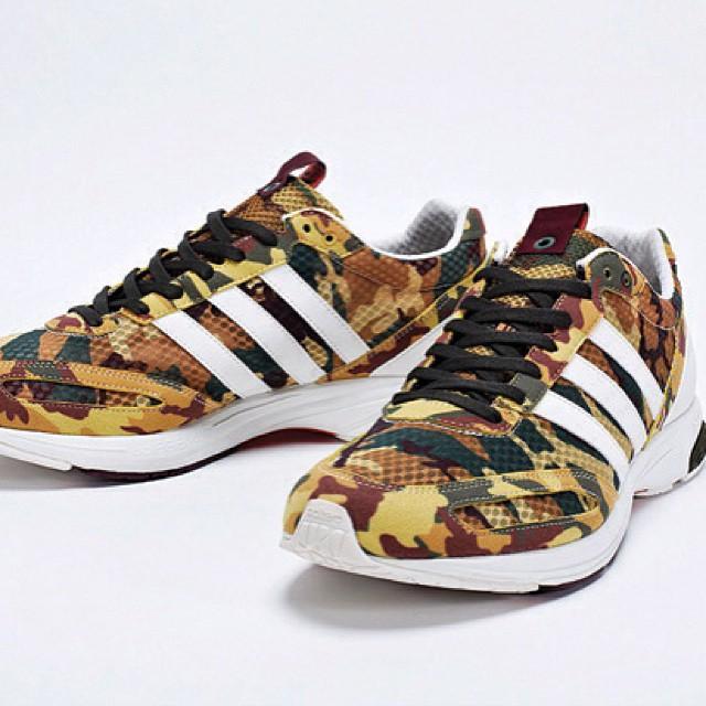 """thesneakerenthusiast: adidas Consortium adizero Adios 2 """"Camo""""… #adidas #consortium #adizero #adios #2 #camo #igsneakercommunity #sneakerhead #thesneakerenthusiast"""