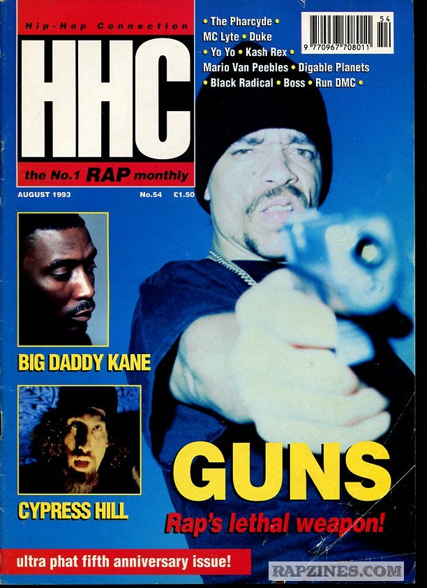 westcoastchris :     Ice-T, Hip Hop Connection, August 1993
